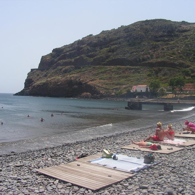 Praia de calhaus, Machico